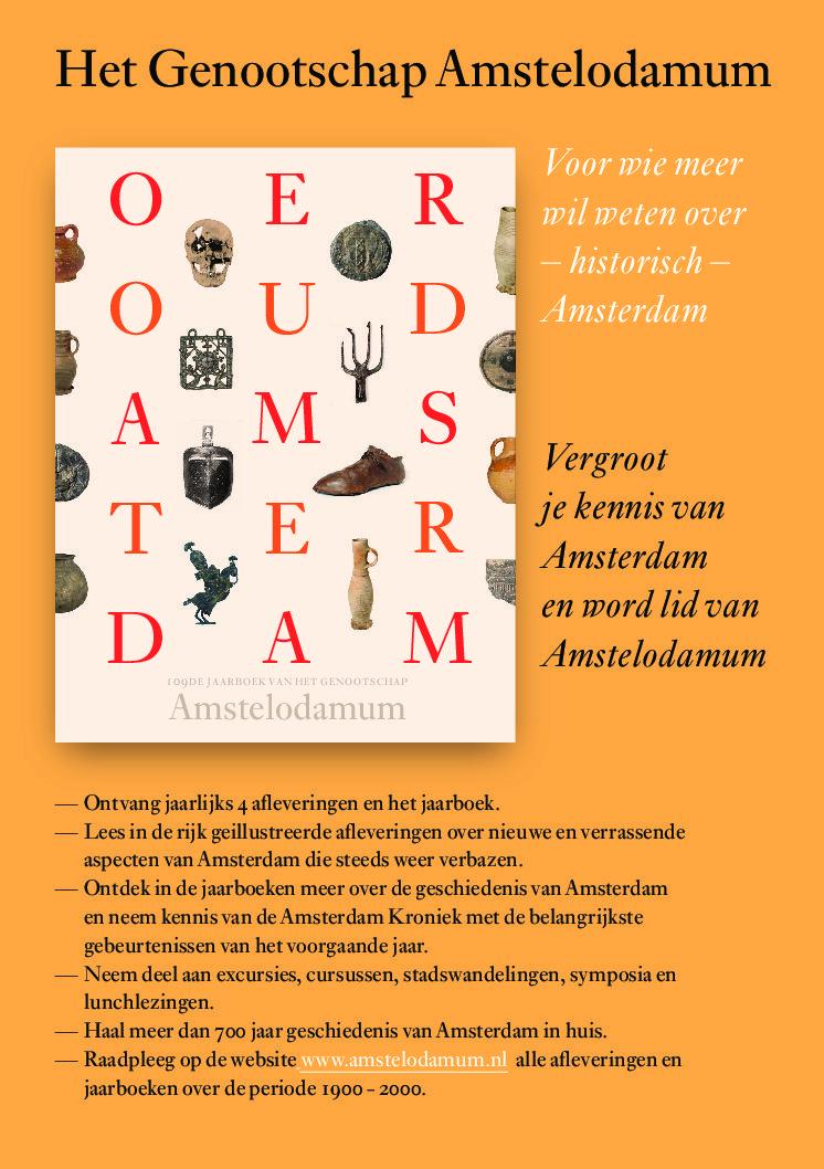 Het Jaarboek Oeroud Amsterdam