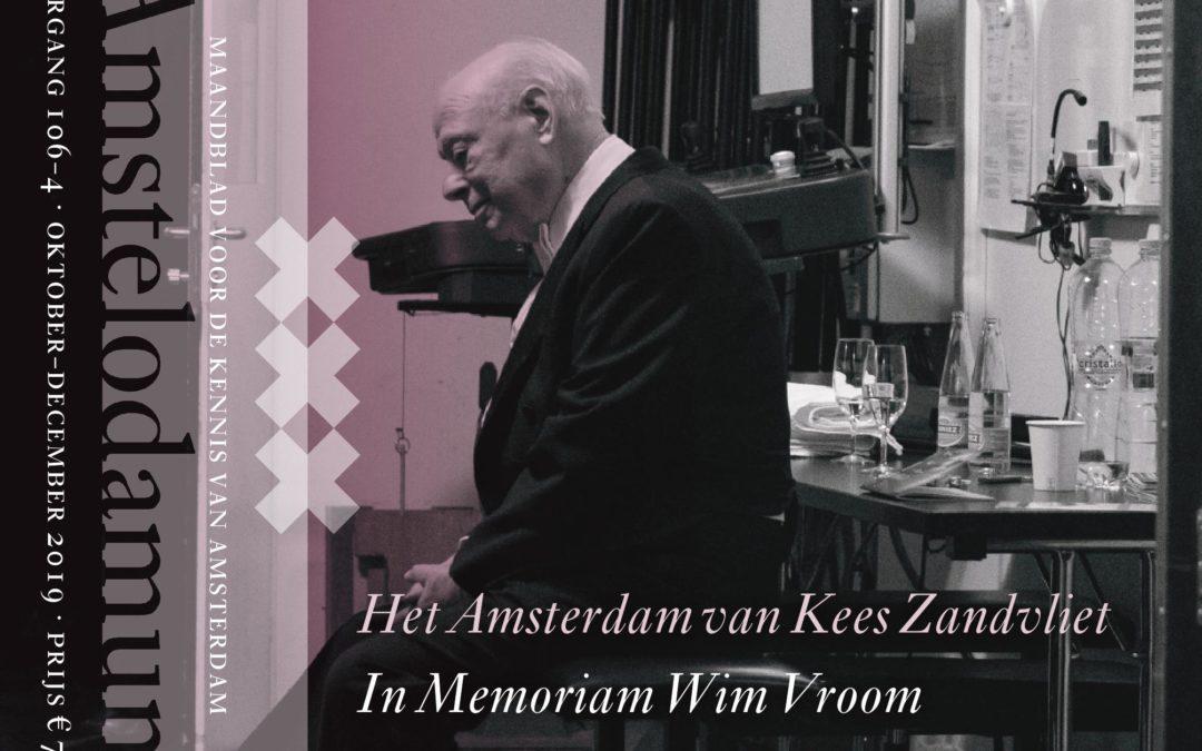 Lees over Bernard Haitink, Wim Vroom en het ontstaan van de studie geschiedenis aan de UvA in ons nieuwe maandblad!