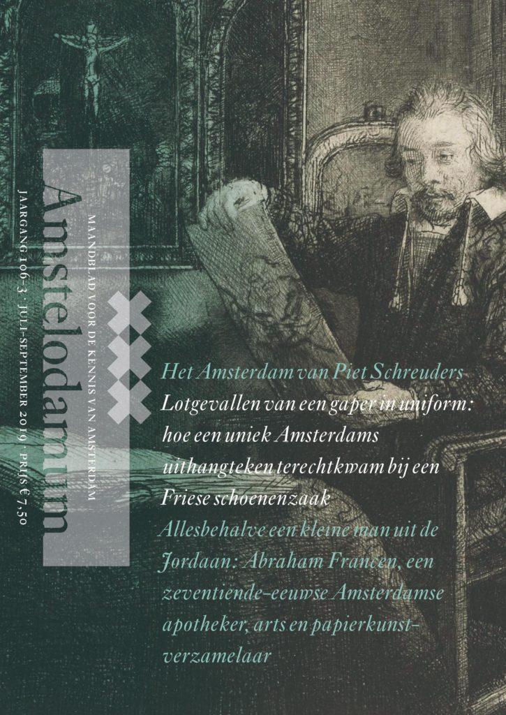 Omslag 3/19 met portret Abraham Francen door Remrbandt
