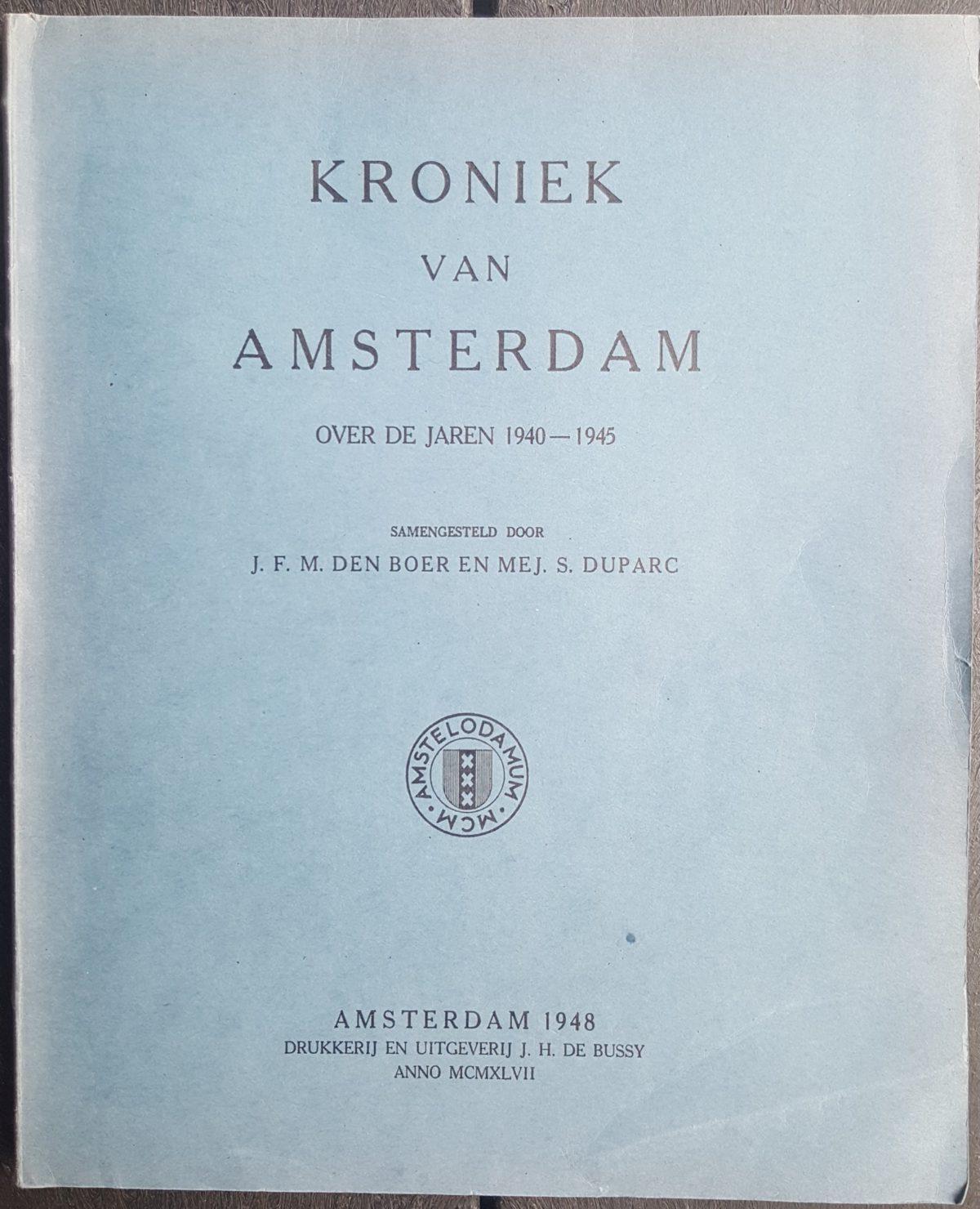 Voorkant Kroniek 1940-1945