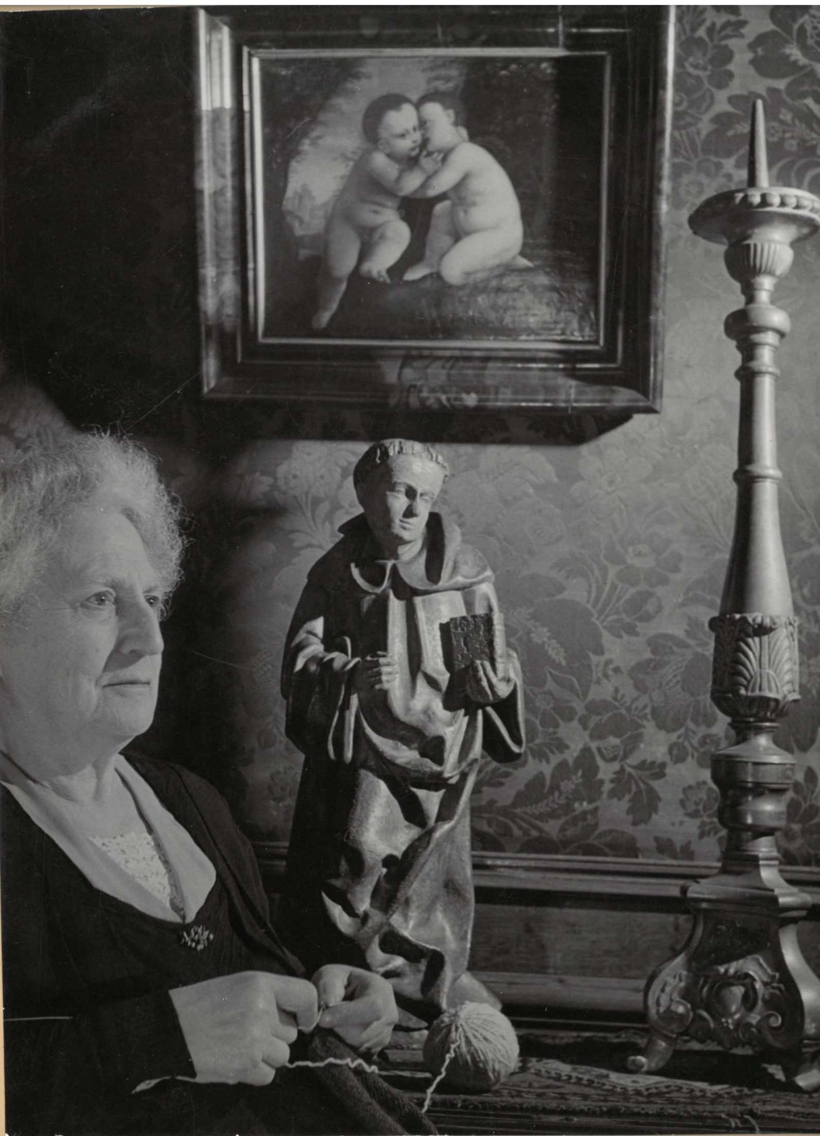 Jans Denijs, 1950. Foto Cas Oorthuys, particuliere collectie.